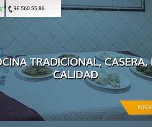 Menús diarios en Novelda: Panach'
