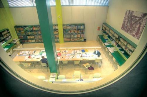 Vista de la biblioteca