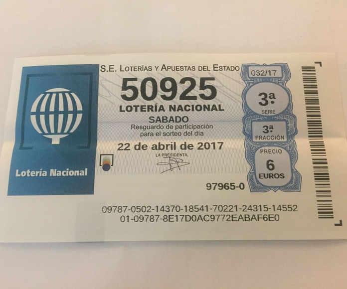 Venta de Lotería Nacional: Productos y servicios de Estanco Real