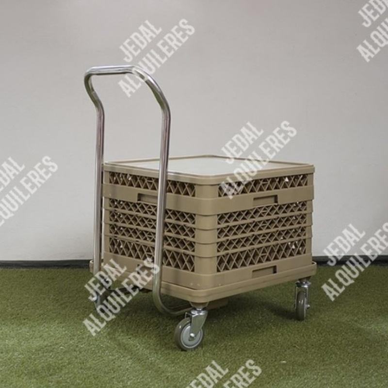 Carro porta cesta lavado: Catálogo de Jedal Alquileres