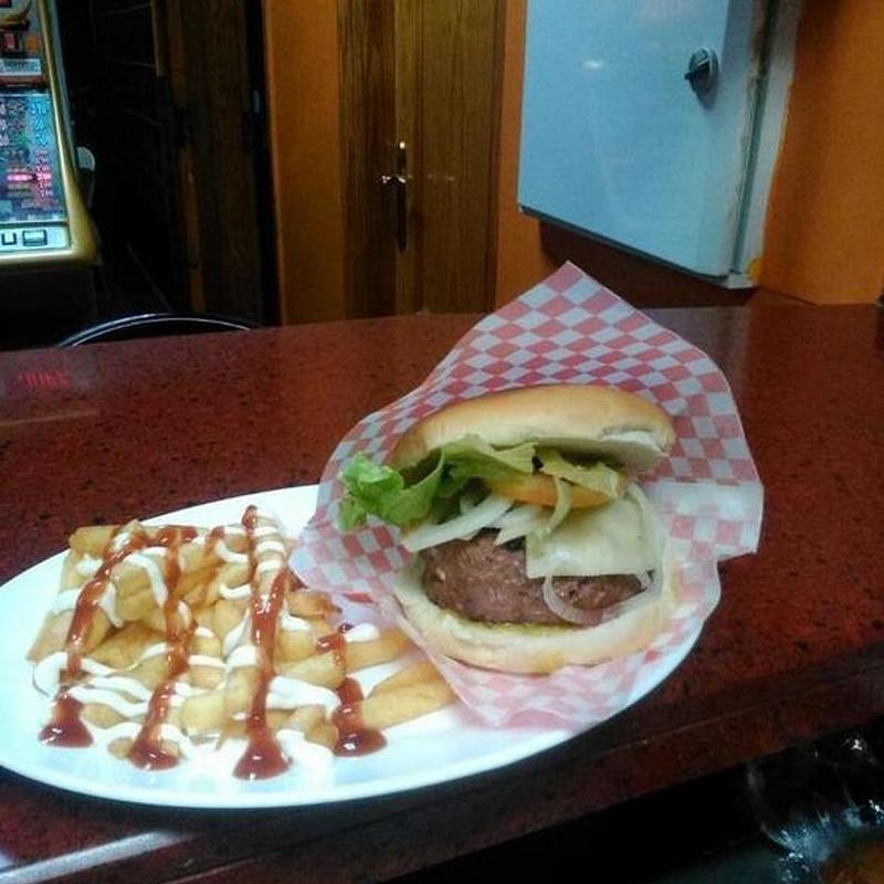 Hamburguesas: Carta de Cafetería  Mortadelo