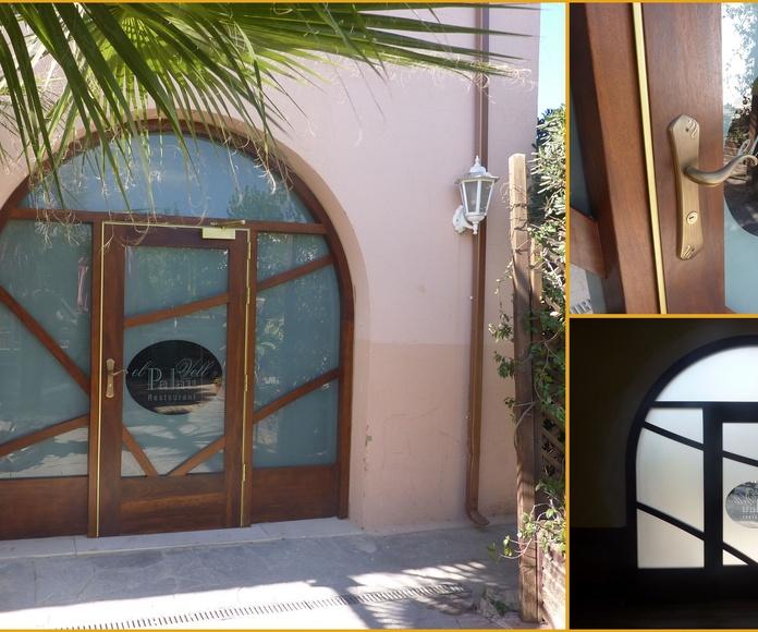 Puertas para hostelería