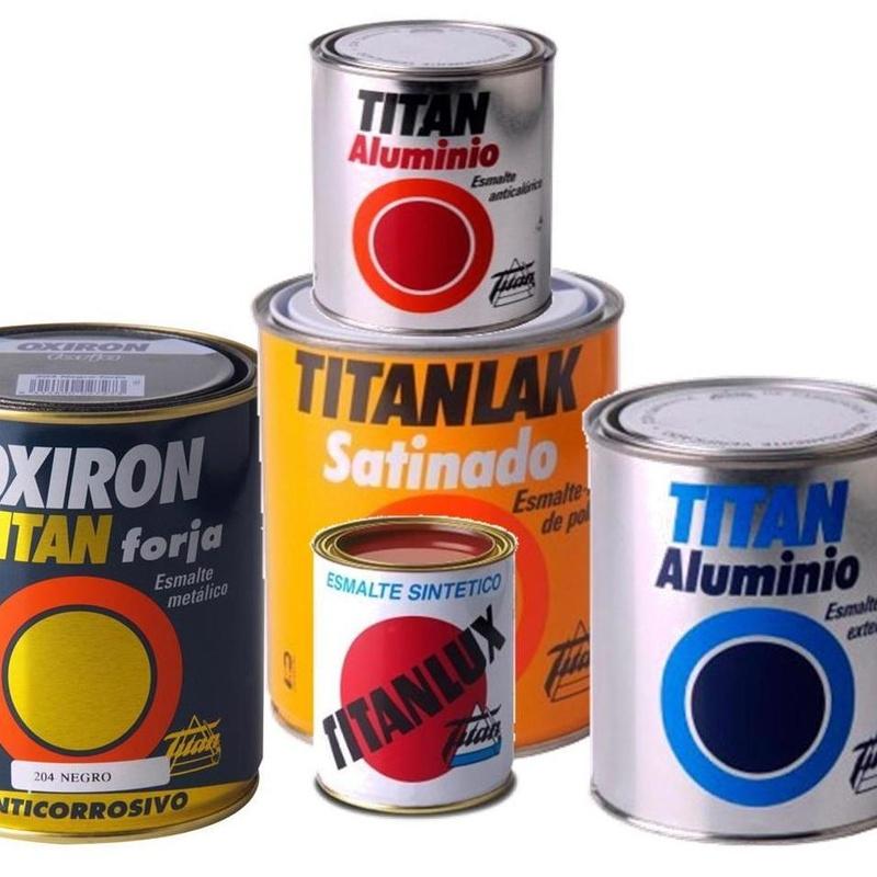 Pintura de esmalte, plástica y acrilica: Productos  de Casa Vila