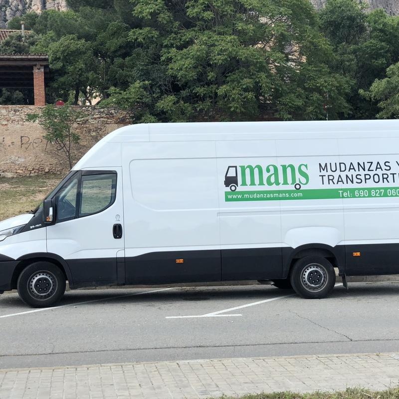 Transportes: Servicios de Mudanzas Mans