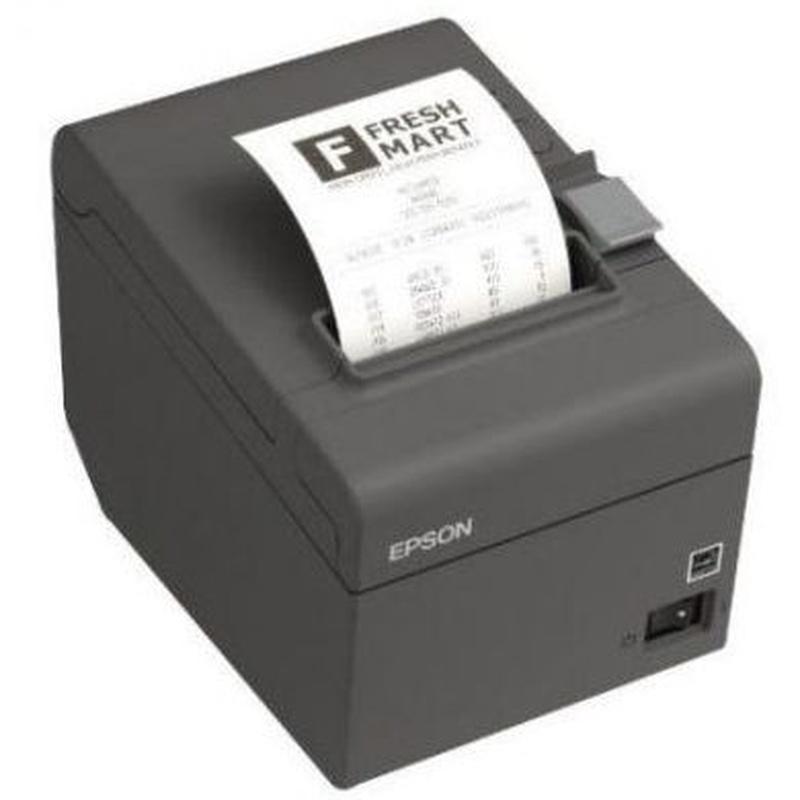 Epson Impresora Tiquets TM-T20II USB + RS232 Negra : Productos y Servicios de Stylepc