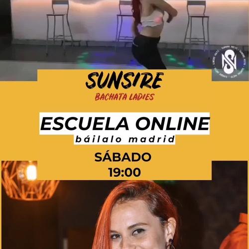 ESCUELA ONLINE-SUNSIRE ( BACHATA LADY STYLE)