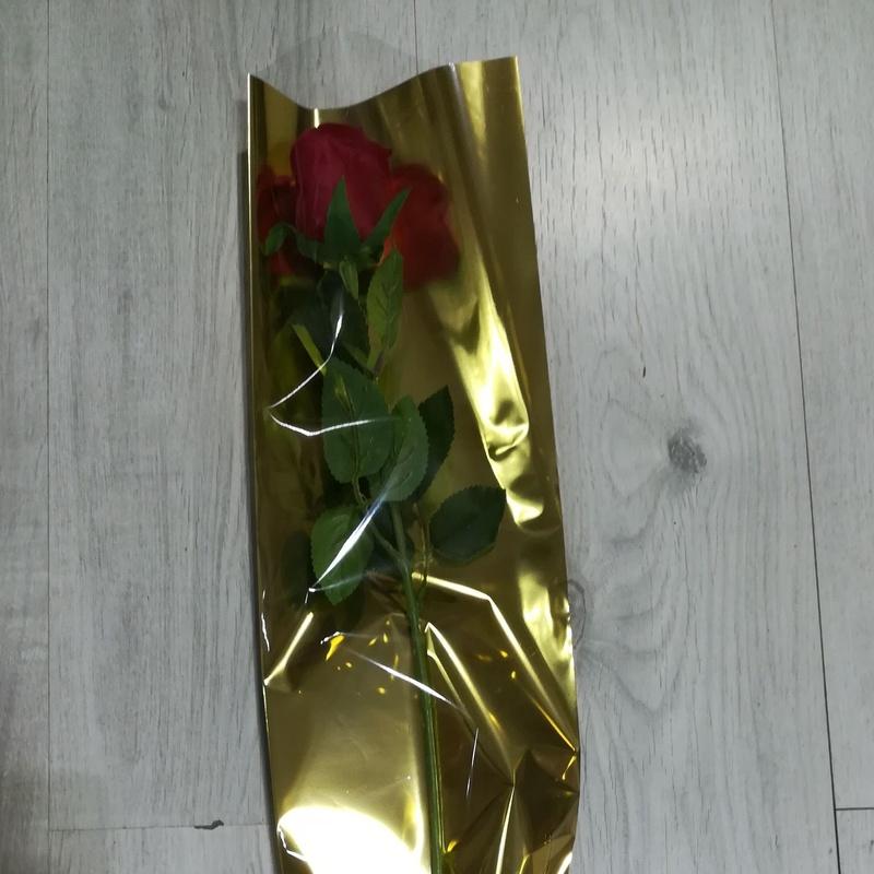PQTE. (x 100 unid.) LISA (16x70 cm.) DORADA. PRECIO: 17 €