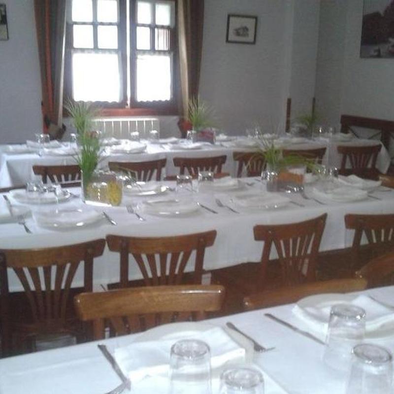 Instalaciones: Productos y Servicios de Restaurante Iriarte