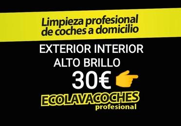 http://kit-ecolavacoches.es Exterior Interior 30€ Dirección Día Hora /