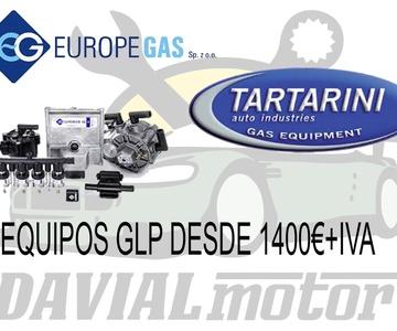 Instalación de sistema de carburante GLP (gas licuado del petróleo)