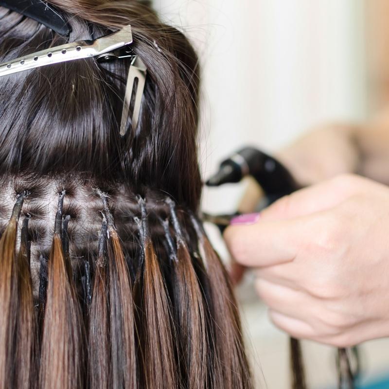 Extensiones de cabello marca Hairdreams: Servicios de Salón de Belleza David Danielle