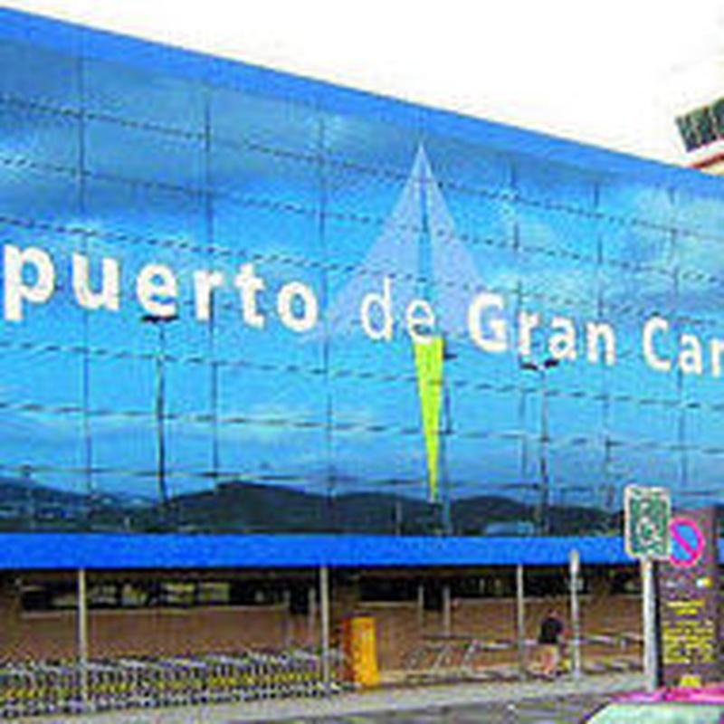 Destino ~ Destination: Aeropuerto Gran Canaria / Gran Canaria Airport: Precios - Servicios y Reservas de Reservas de Taxis Las Palmas de Gran Canaria, Puertos y Aeropuerto. Bookings of Transfers by Gran Canaria.