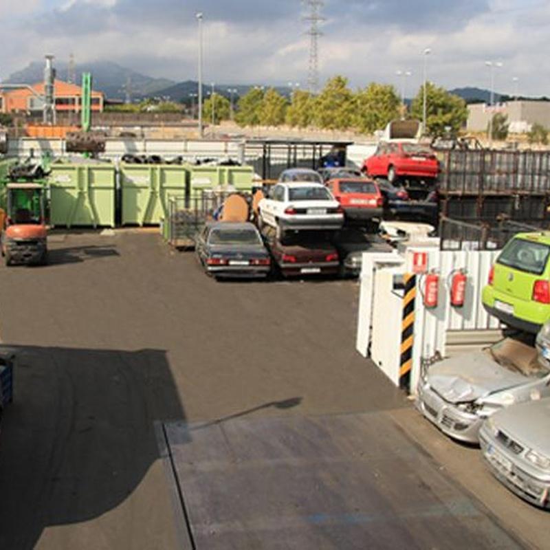 Clasificación y recuperación de metales y derivados: Servicios de Font Grau, S.L.