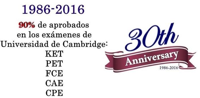 1986-2016: 90% APROBADOS