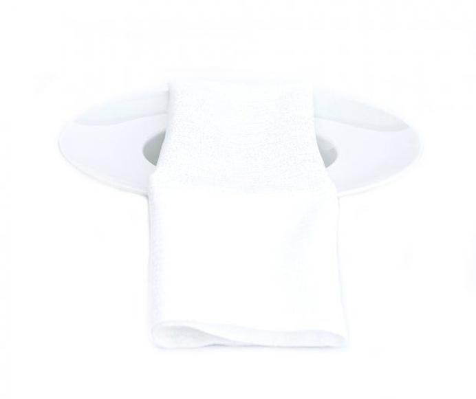 Servilleta blanca brillo: Alquiler de Mantelería & Menaje