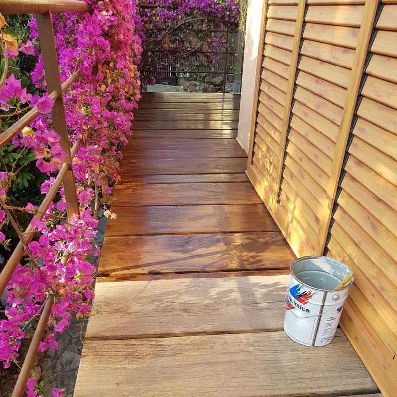 Pintores Martinez # tratamiento de madera.