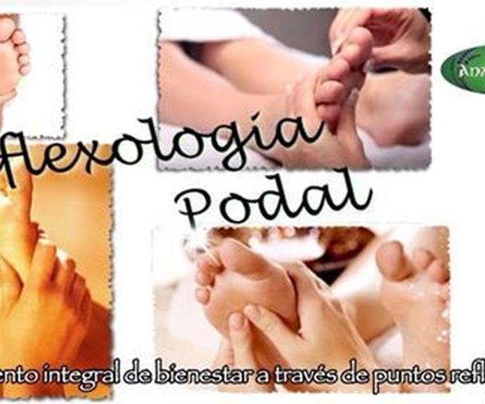 Reflexología podal: Terapias de Anam Cara