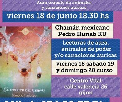 CONFERENCIA GRATUITA Chamán Mexicano PEDRO HUNAB KU Viernes 18 a las 18:30