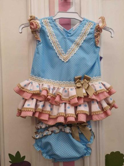 Trajes de flamenca niña