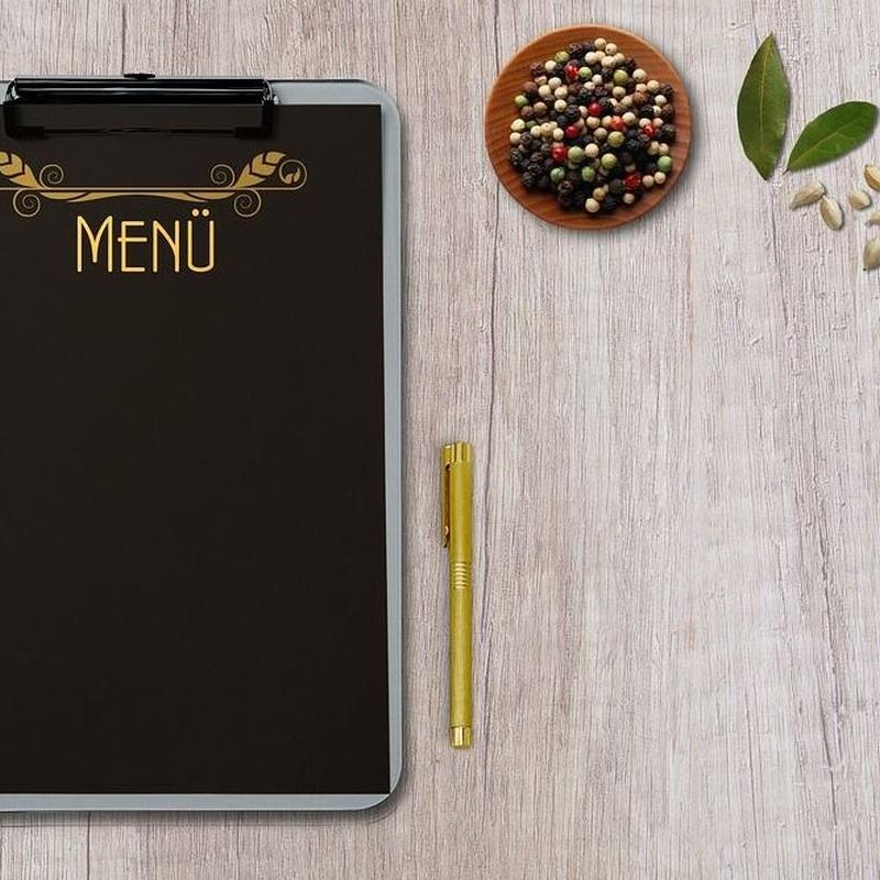 Menú del día : Carta de Restaurante Duque