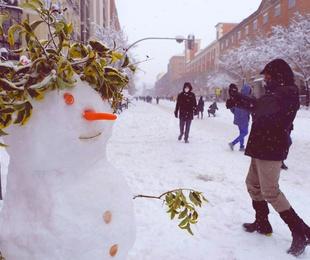 La nevada del siglo en Madrid!!