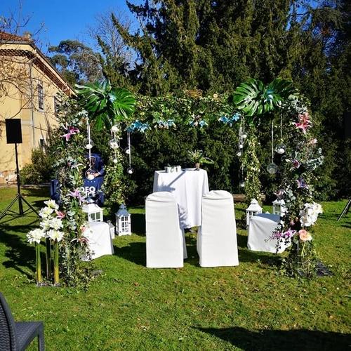 Decoración floral en bodas en Gijón