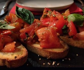Bebidas: Carta de Rustico Pizza e Vino