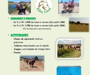 Paseos a caballo en Zaragoza | Hípica Riding School