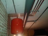 Instalación de caldera de pellets para calefacción