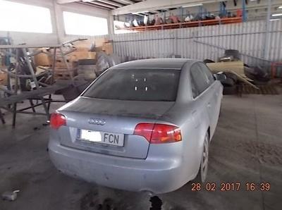 AUDI: Desguace Valorización del Automóvil BCL, S.L.