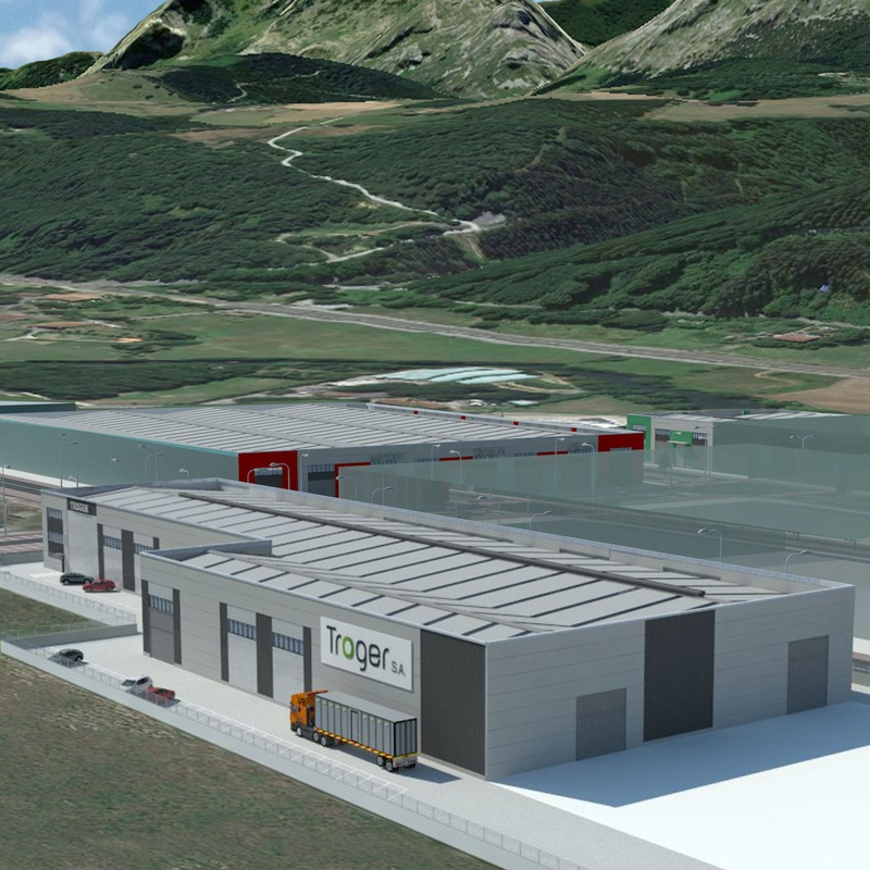 TROGER. Nueva nave industrial y de oficinas. SAPUI ARRIANDI B. P. 2A-2B: Servicios y proyectos de Maurtua Arquitectos