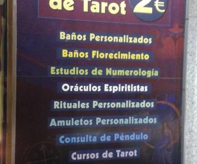 Consultas de tarot desde 2€