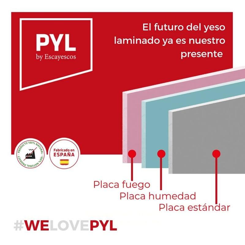 Placa PYL impregnada: Nuestros productos de Placa Depot, S.L.