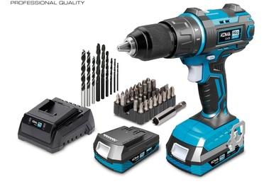 Kit taladro KOMA Pro Series tools 20V