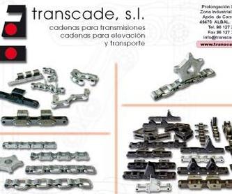 Características técnicas y aplicaciones: Catálogo de Transcade