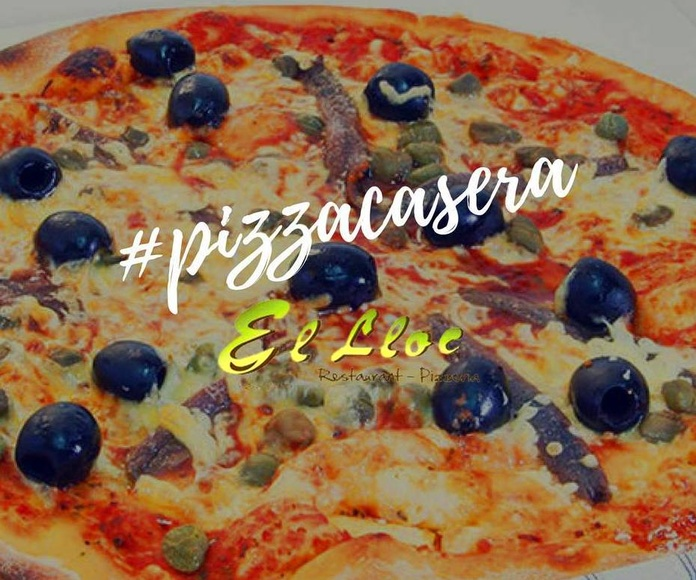 Pizza napolitana en Oliva