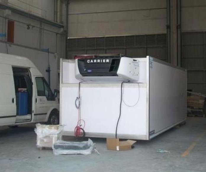 Taller de equipos de frio Camiones: Servicios de Talleres Díez-Ochoa