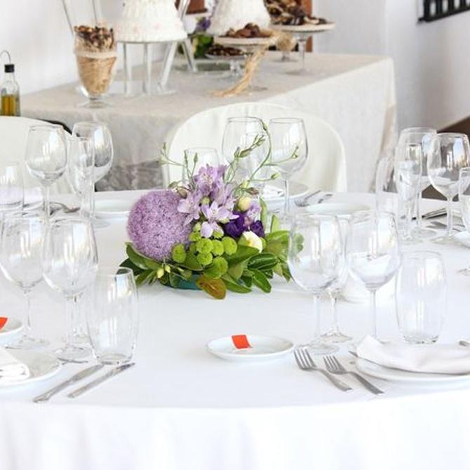 Consejos para elegir centros de flores para bodas