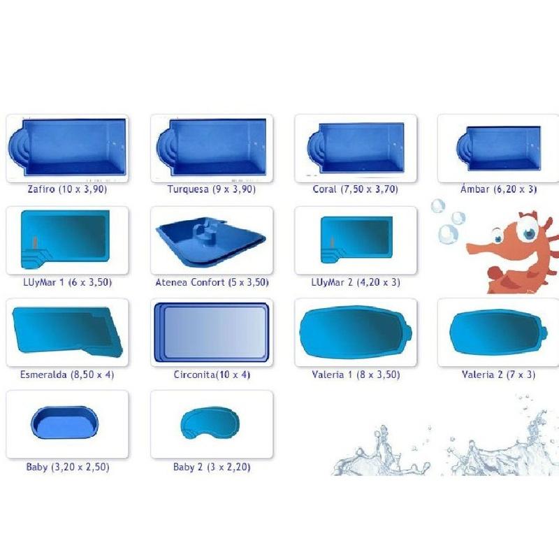 Fabricación de piscinas de poliéster Luis Pino: Servicios y Productos de Poliéster Luis Pino