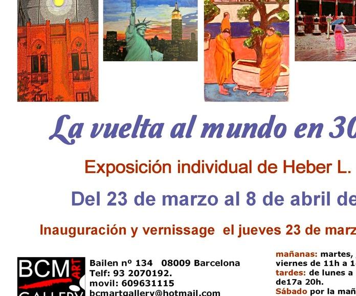 Heber Luis Gil Exposición