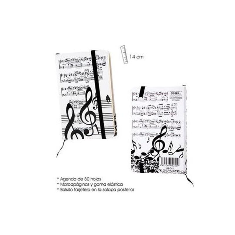 Agenda 9 x 14 música: Productos y servicios de PENTAGRAMA