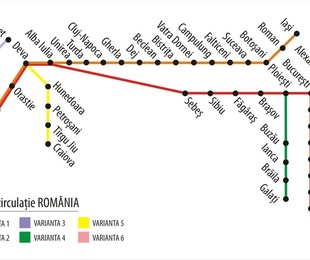 Rutas a Rumanía