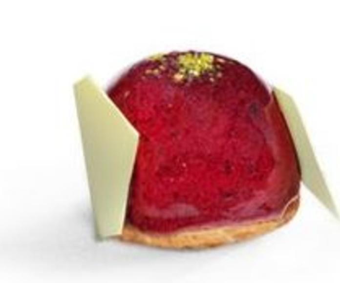 Mousse de frutos rojos y pistachos: Productos de MartaPino Postres