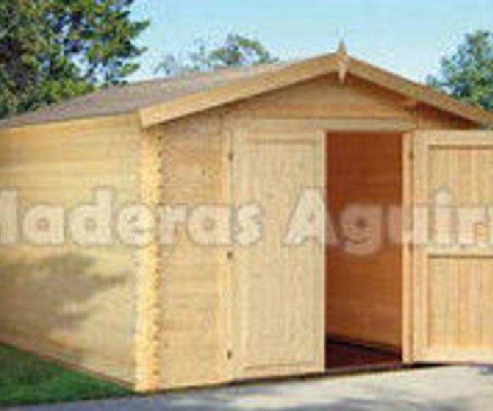 Casetas de Jardín: Catálogo de Maderas Aguirre