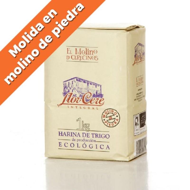 """Harina de trigo ecológica integral W-200 """"Molino de piedra"""" 1 kg: Productos de Coperblanc Zamorana"""