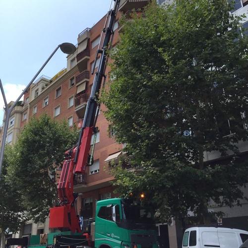 Grúas en Sant Andreu de la Barca | Agrutrans