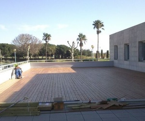 Tarima exterior Sabadell