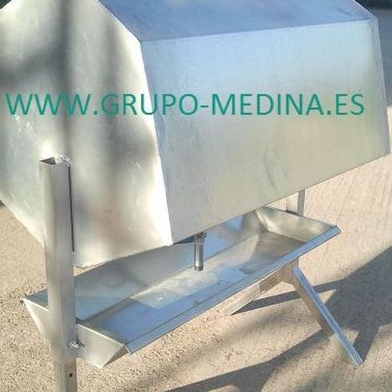 BEBEDERO DE 250 LITROS : NUESTROS PRODUCTOS de Grupo Medina