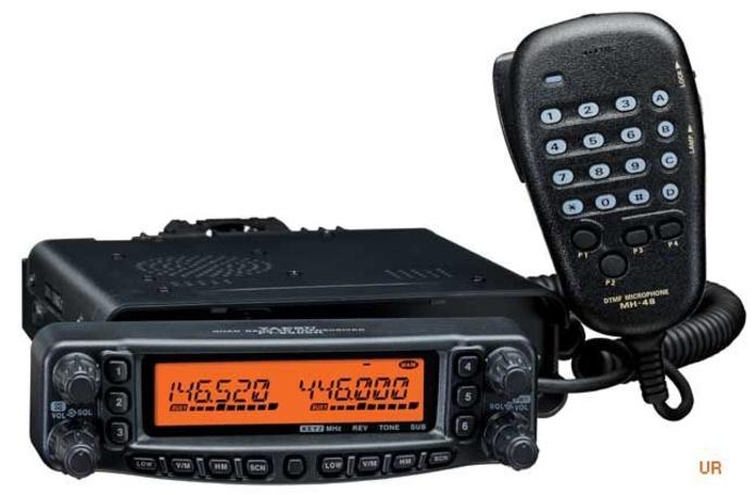 YAESU FT-8900 con kit extension de frontal: Catálogo de Olanni Electronics
