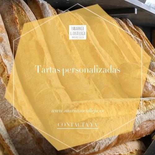 Tartas personalizadas en Torrelaguna | Pastelería Mariano Calleja